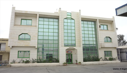 usine general litiere jigurta candia algerie
